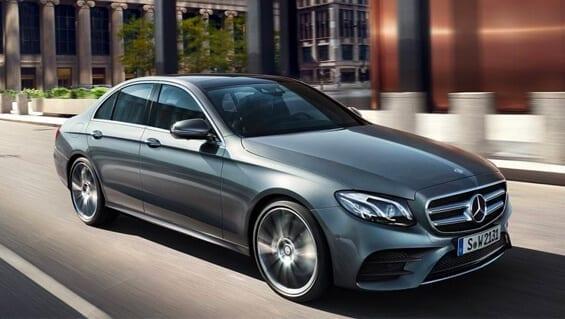 Diseño exterior del Mercedes Clase E