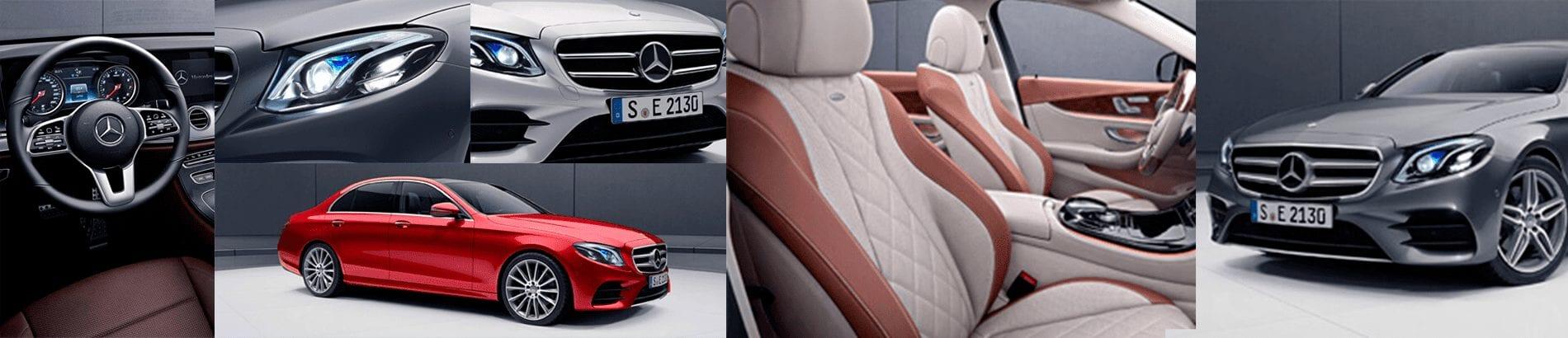 Mercedes-Benz Clase E mosaico