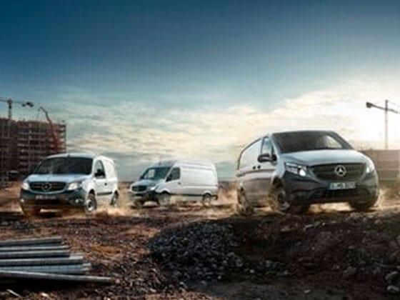 Prueba nuestra gama de vehículos industriales