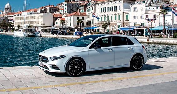 Mercedes clase A diseño atractivo