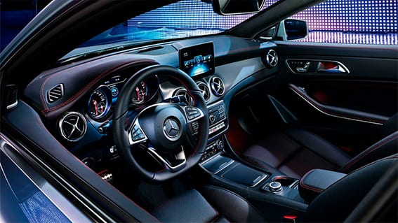 Diseño interior y dimensiones del Mercedes CLA 2019