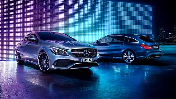 Diseño exterior del Mercedes CLA