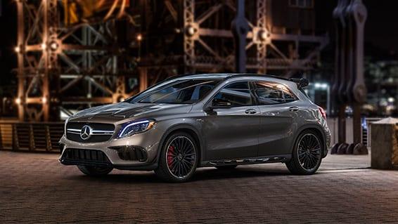 Diseño exterior del Mercedes GLA