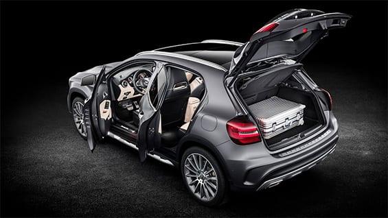 Medidas y diseño exterior del Mercedes GLA 2021