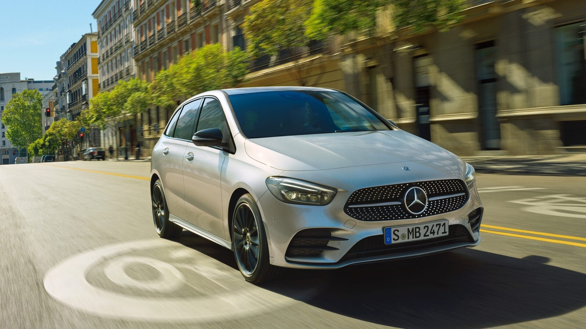 Mercedes Clase B diseño exterior e equipamiento