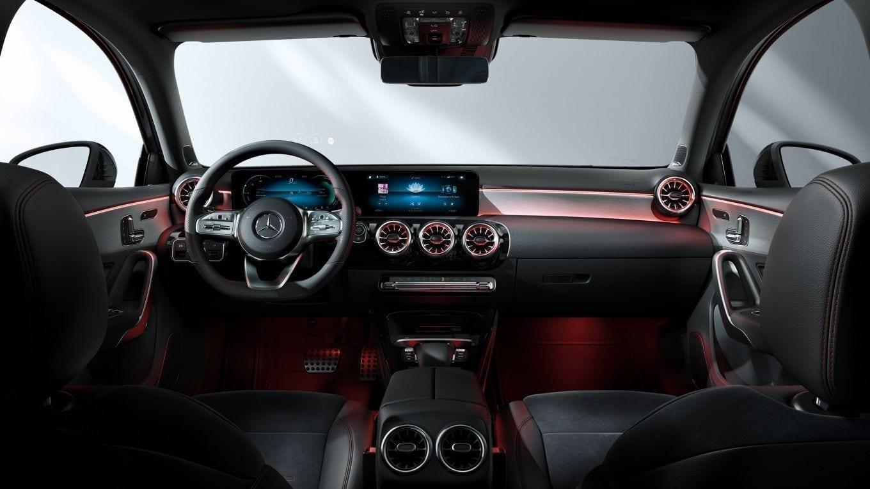 Diseño interior del Mercedes Clase A