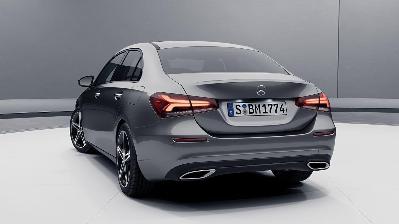 Mercedes Clase A Sedán con un diseño deportivo