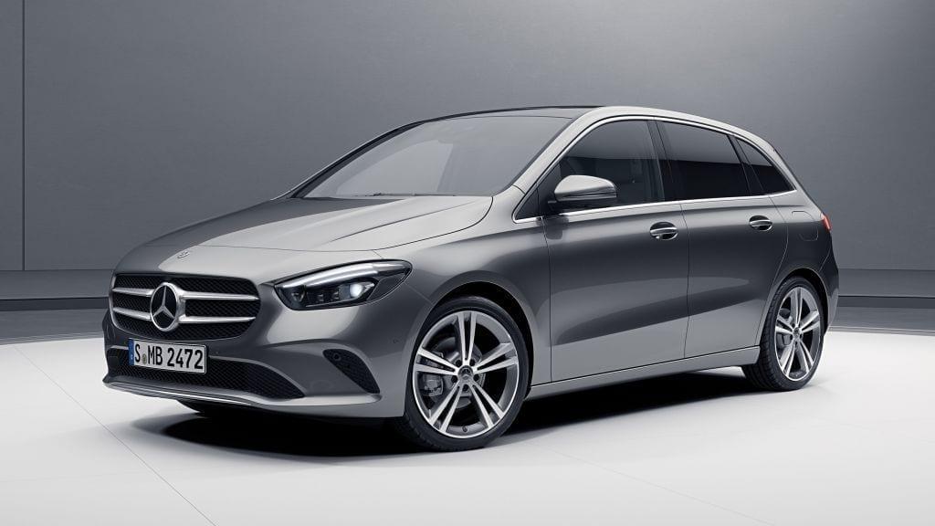 Mercedes Clase B 180 motor de gasolina