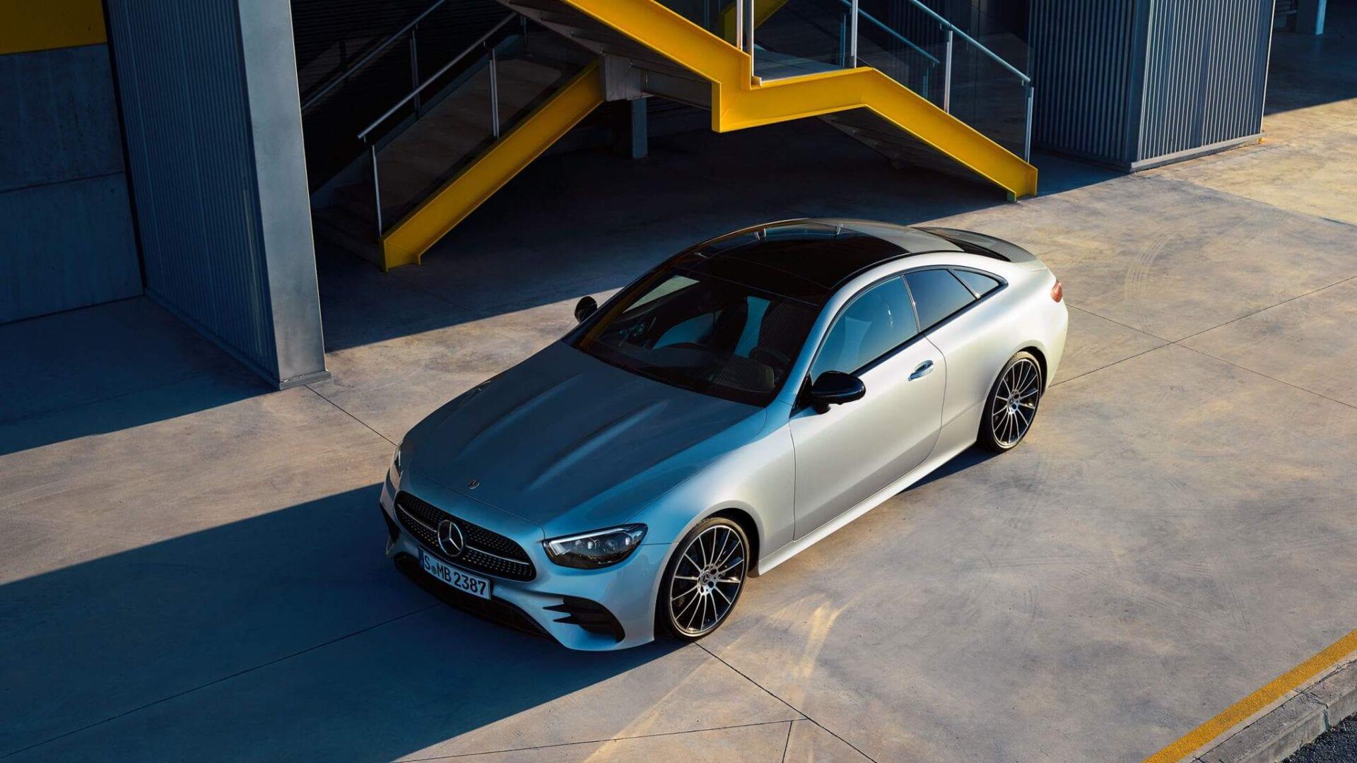 Mercedes Clase E Coupé de dos puertas