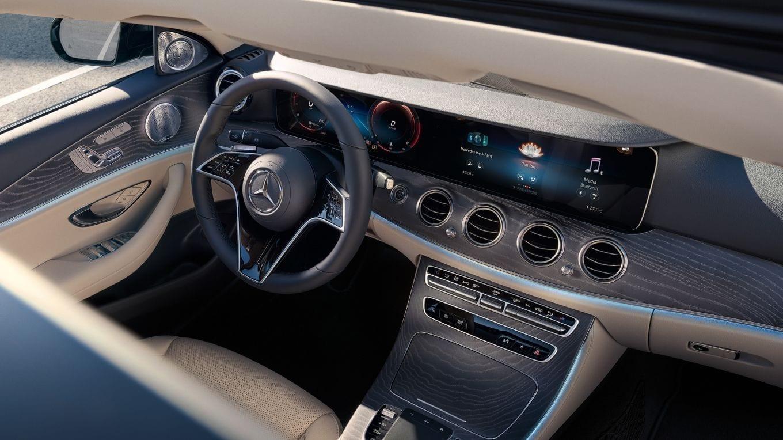 Mercedes Clase E diseño interior