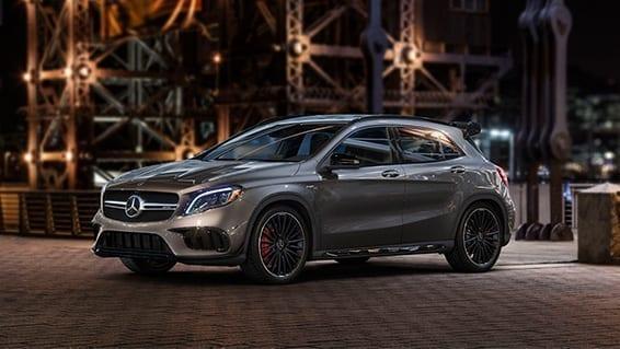 Mercedes GLA características