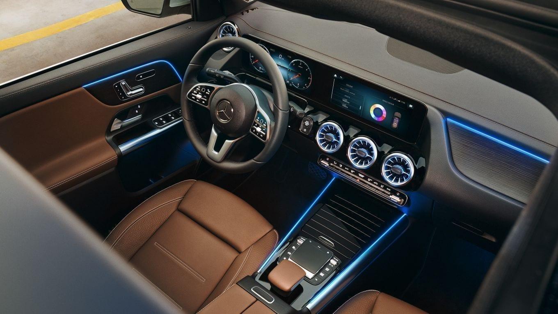 Equipamiento del Mercedes GLA